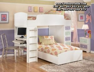 Desain Tempat Tidur Anak Tingkat Duco