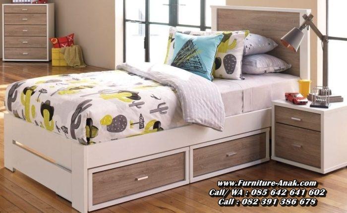 Tempat Tidur Anak Minimalis Sederhana