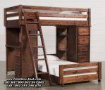 Ranjang Tempat Tidur Tingkat Anak Kayu Jati
