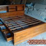 Model Tempat Tidur Anak Sorong Laci