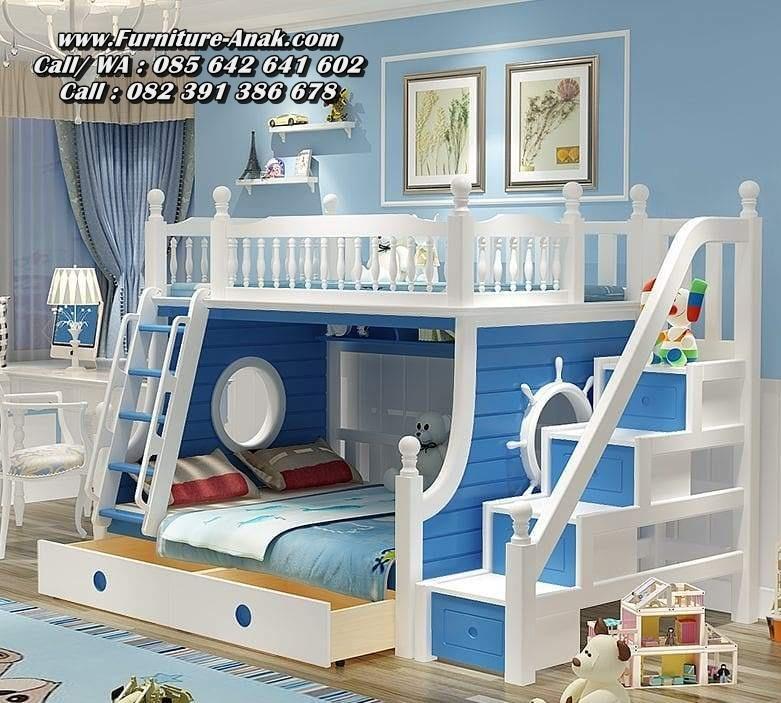 Ranjang Tempat Tidur Tingkat Setir Kapal