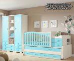 Set Tempat Tidur Bayi Unik Cantik Kayu