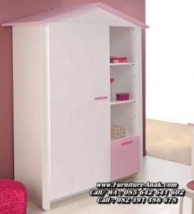 Lemari Pakaian Anak Minimalis Atap Rumah