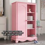 Lemari Pakaian Anak Perempuan Warna Pink