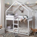 Tempat Tidur Tingkat Anak Model Rumah