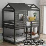 Tempat Tidur Tingkat Kayu Model Rumah